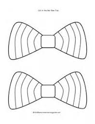 Small Picture Dr Seuss Bow Tie Template sketch template Its National Tie