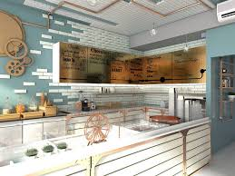 Small Picture Creative Ideas For Ice Cream Shop Design With Unique Wall Decor
