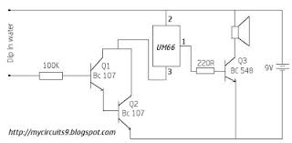 simple water tank overflow alarm circuit my circuits 9 Simple Alarm Circuit Diagram circuit diagram simple water overflow alarm simple alarm circuit diagram with relay