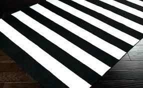 black and white area rug 5x7 striped chevron ch