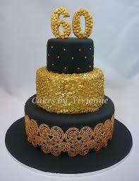 Black Gold 60th Birthday Cake Cakecentralcom