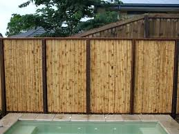 bamboo backyard fence cheap bamboo fence bamboo outdoor privacy fence