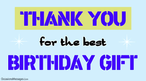 best thank you messages for birthday