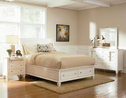 King Sleigh Bed Bedroom Sets Coaster Sandy Beach King Sleigh Bed With Footboard Storage