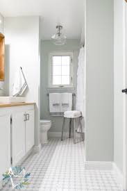 this modern farmhouse bathroom is the perfect way to get a fixer upper farmhouse look on