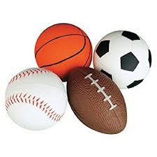 ball toys. relaxable balls (foam sports balls, 1 dz) ball toys f