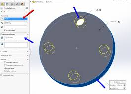 Circular Pattern Solidworks Cool Easily Add Global Variable To Drive A Pattern SolidWorks 48DLogix