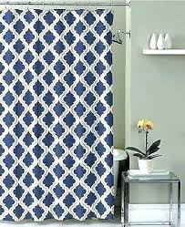 blue and white striped shower curtain navy taupe fabric fl target