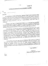 indemnity letter sle bank new letter indemnity indemnification template sle bank refrence