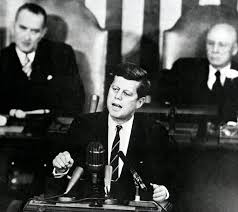 jfk years in office. President John F. Kennedy Speaks Before A Joint Session Of Congress, May 25, Jfk Years In Office T