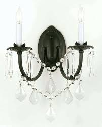 crystal chandelier wall sconces chandelier crystal wall sconce light fixture o wall sconces crystal chandelier with