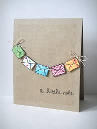 a little note card 25 handmade cards