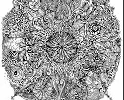 Complicated Mandala Coloring Pages Halloween For Adults Online