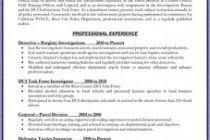 Cover Letter Sample For Investigator Law Enforcement Resume Examples