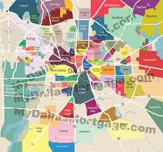map of dallas texas and suburbs  lapiccolaitaliainfo