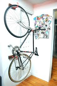 Bike hanger for apartment Diy Vertical Bike Rack For Apartment Full Image Racks Apartments Buildings Best Freestanding Stands Single Stand Apartment Bike Storage Dieetco These Apartment Bike Racks Are So Genius We Cant Even For Vertical