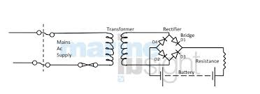battery charging on board ship Onboard Battery Charger Wiring Diagram a simple circuit used for battery charging is shown below on board battery charger wiring diagram