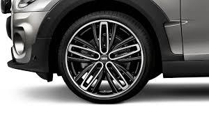 sleek design meets innovative technology the mini cooper clubman mini spoke 526 in black milled