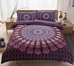 boho bedding sets mandala bohemian duvet cover set doona qulit covers super king queen size full