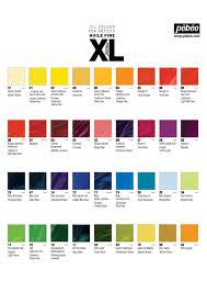 Pebeo Vitrea 160 Color Chart Pebeo Colour Chart Pebeo Vitrail Glass Paints