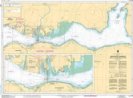 Burrard Inlet Depth Chart Chs Nautical Chart Chs3494 Vancouver Harbour Central Portion Partie Centrale