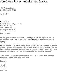 Acceptance Letter For Offer Download Job Offer Acceptance Letter Sample For Free