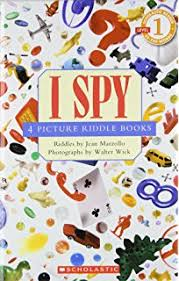 scholastic reader level 1 i spy 4 picture riddle books