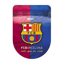 Amazon Com F C Barcelona 3d Sticker Large One Size