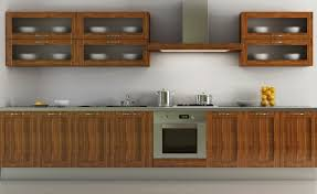 Modern Kitchen Furniture Grey Flooring Tile In Modern Kitchen Design With White Wall Paint