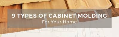 9 types of kitchen cabinet molding for your home
