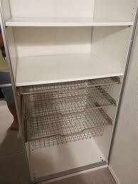 ikea pax wardrobe w glass sliding doors dresser closet