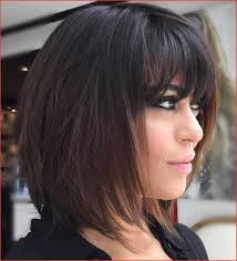 Layered Hairstyles With Bangs For Medium Length Hair Lovely Black