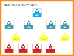 Powerpoint Hierarchy Templates 11 12 Management Hierarchy Template Lascazuelasphilly Com