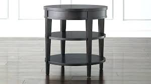 bed side table with drawer nightstand round bedside tables nightstands black gloss