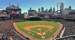 Seating Chart Comerica Park Detroit Mi Comerica Park Detroit Tigers Ballpark Ballparks Of Baseball