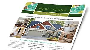 Microsoft Real Estate Flyer Templates Real Estate Brochures Flyers Word Publisher Templates