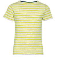 <b>Футболка мужская FIRST 150</b> горчичино-желтая с логотипом ...