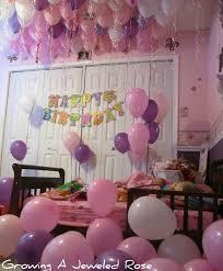 birthday surprise kids birthday room