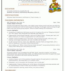 Professional Resume For Teachersective Teacher Sample Incredible