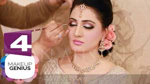 4 new stani bridal makeup and hairstyles tutorial in urdu hindi 2018 eye