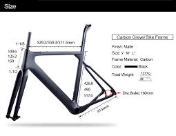 2019 <b>new</b> BXT Carbon <b>Gravel</b> Bike Frame aero <b>Road</b> or <b>MTB</b> frame ...