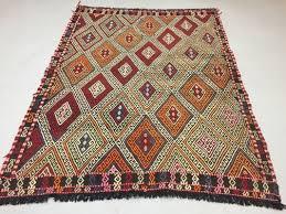 vintage turkish kilim rug 1