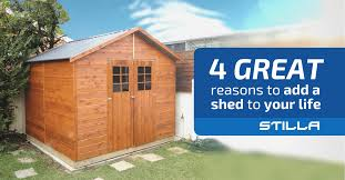 4 great reasons to add a shed to your