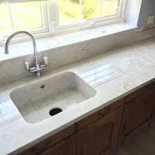backsplash. kitchen countertop with built in sink: Countertops ...