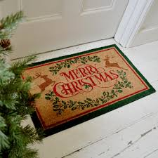 christmas door mats outdoor. Merry Christmas Coir Doormats Door Mats Outdoor O