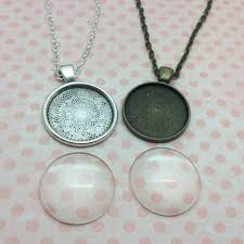 details about pendant necklace kit jewellery making kit make your own custom photo charms