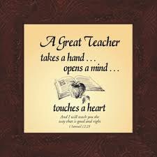 Christian Teacher Appreciation Quotes