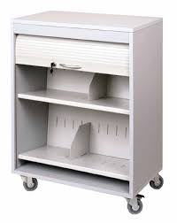 Medical File Carts Open And Locking Hipaa Compliant