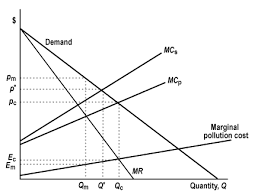Negative Externality Graph Monopoly And Externalities