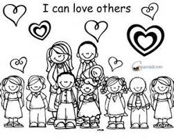 Small Picture Simple Love One Another Coloring Page Coloring Page and Coloring